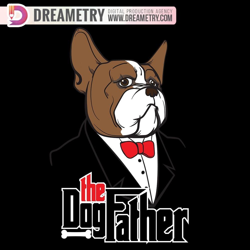 Dreametry French Bulldog Illustration