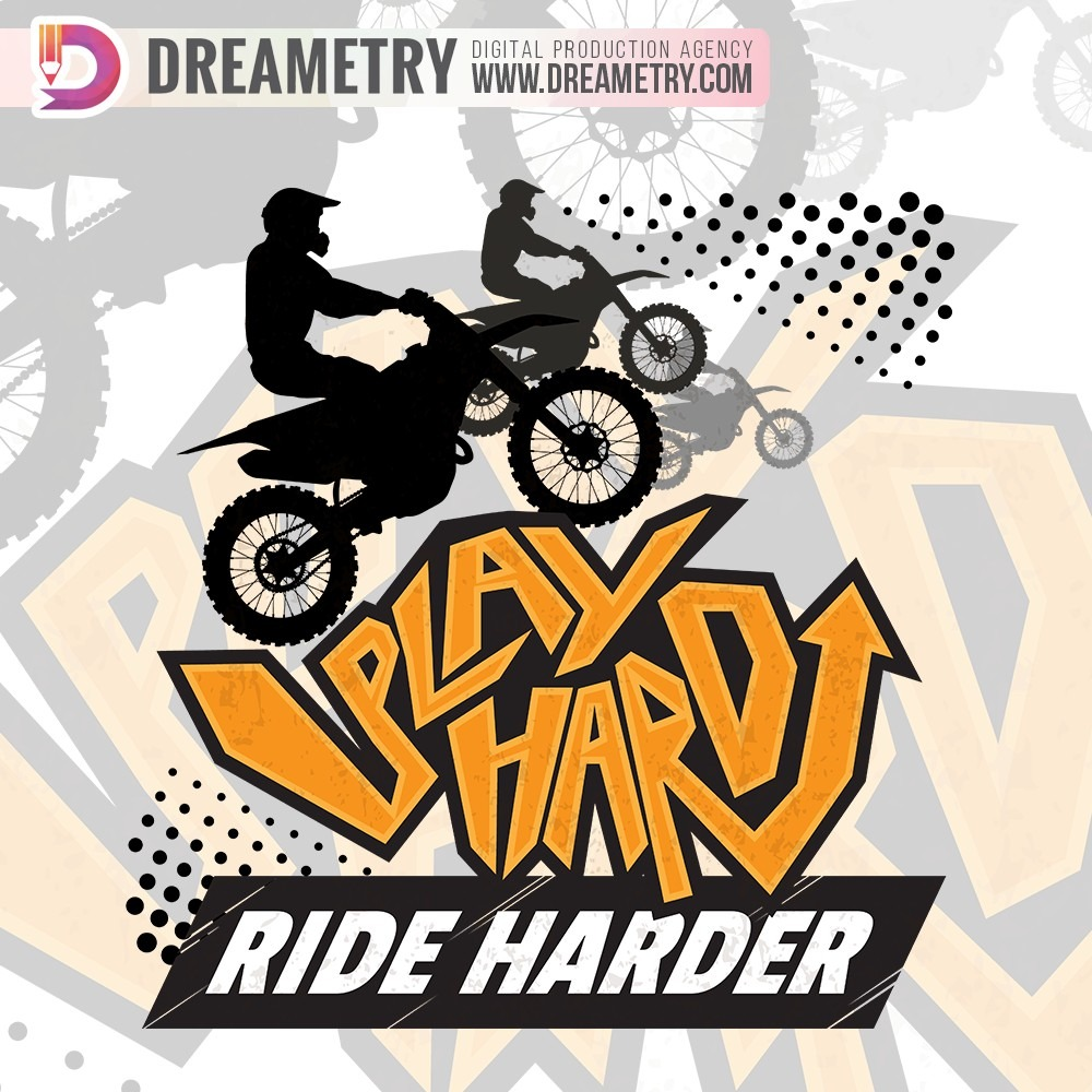 Ride-Hard Illustration of Dreametry