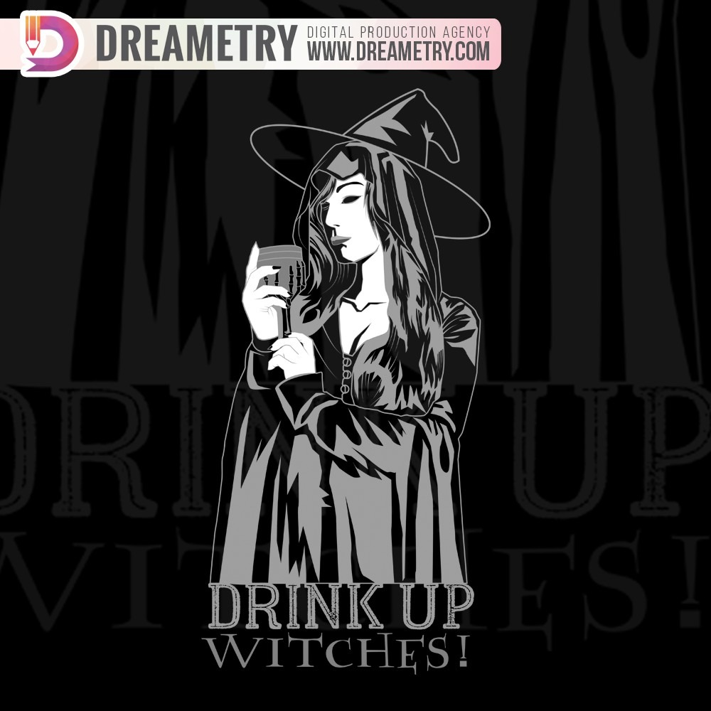 Dreametry project Witch Illustration