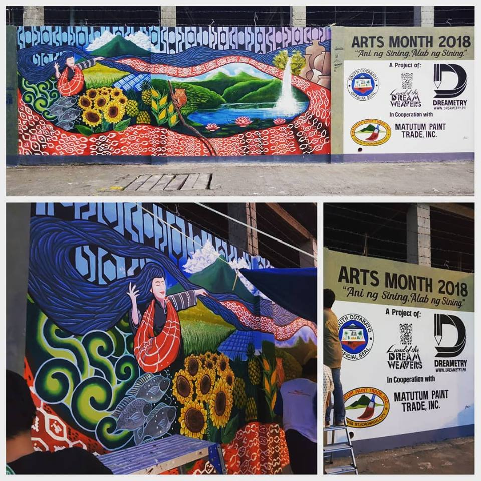Arts Month Mural